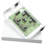 Four SPCO relay module with tamper switched enclosure
