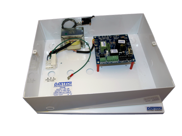 12V 1.5A DC or 24V 750mA DC Power supply with UPS and monitoring