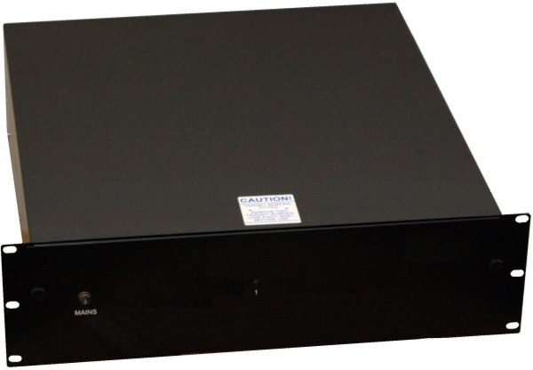 Rack-mount 1x 12V 8A DC PSU with UPS & monitoring