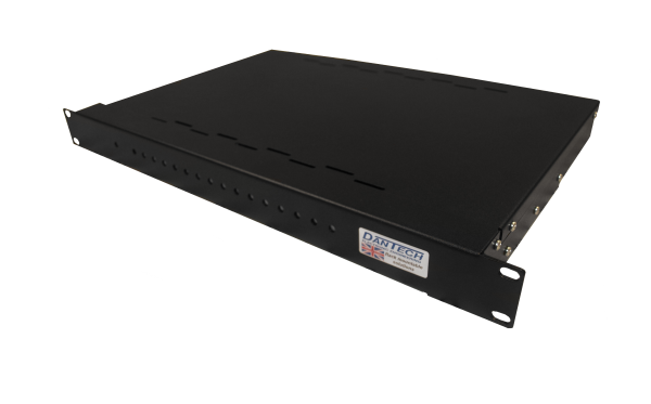 Slim 1U rack-mount 8x 24V 2A AC power supplies