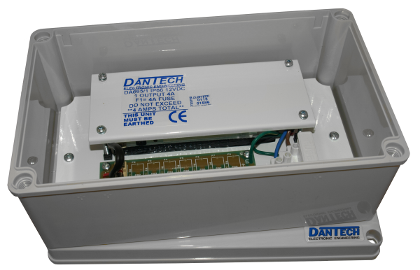 IP66 Weather resistant 1 x 12V 4A DC Multi-purpose 4A power supply