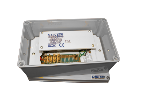 IP66 Weather resistant 4x 24V 500mA Multi-purpose 2A power supply