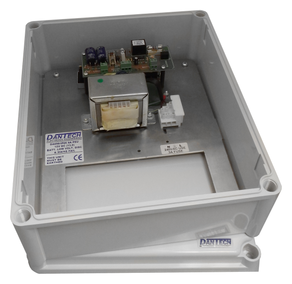 IP66 Weather resistant 12V 4A DC PSU with integrated UPS & monitoring