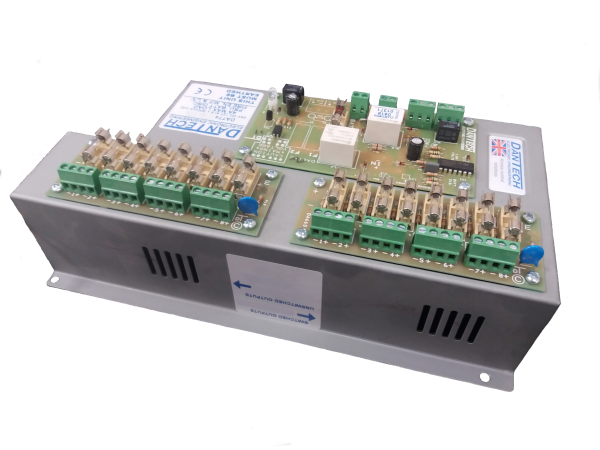 200mm Slim rack mount cabinet with power distribution unit