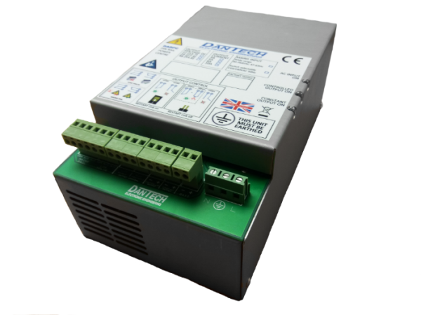 12V 10A DC DIN rail power centre