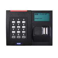 RKLB40 - Biometric + Reader + PIN, terminal connection, Wiegand