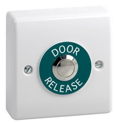 Plastic Exit Button with stainless steel button