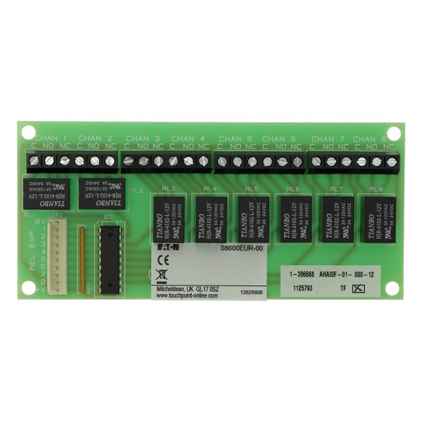 Eight relay output card