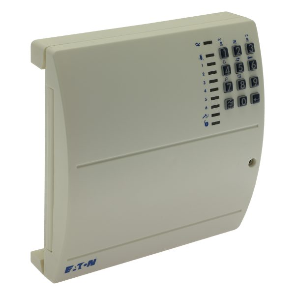 Wired 7 zone intruder alarm panel with on-board keypad