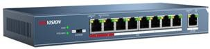DS-3E0109P-E(B) Unmanaged 8 Port PoE Switch