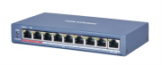 DS-3E0109P-E(C) 8 Port 100Mbps Unmanaged PoE Switch
