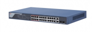 DS-3E0326P-E(B) 24 Port 100Mbps Unmanaged PoE Switch