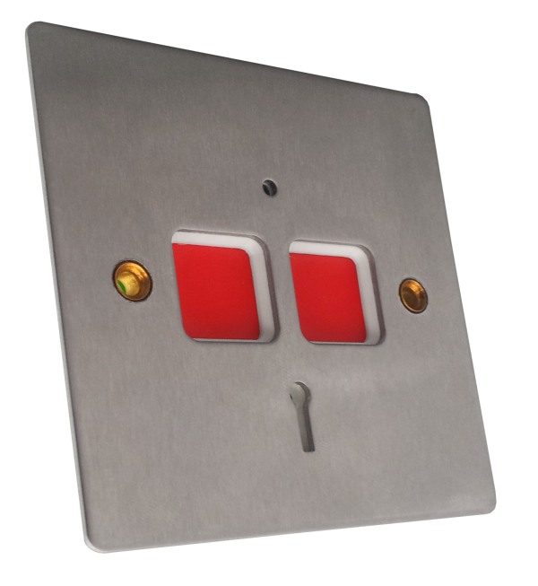 Stainless Steel Flat Plate PA Button