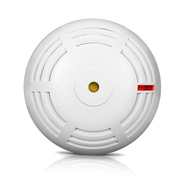 EN 14604 wireless smoke detector compatible with Perfecta