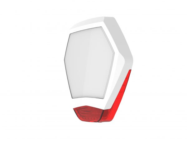 Odyssey X3 Cover (White/Red)