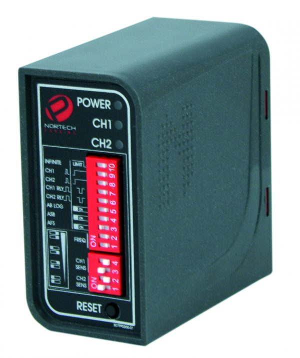 Miniature boxed dual channel detector