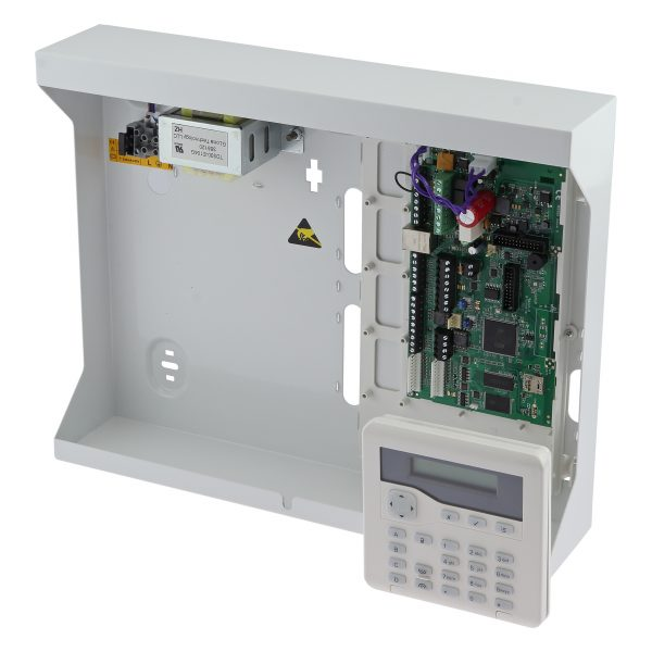 Hybrid control panel expandable to 200 zones