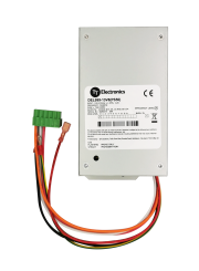 DIN Rail Power Supply with Battery Charger - Output 12VDC at 50W